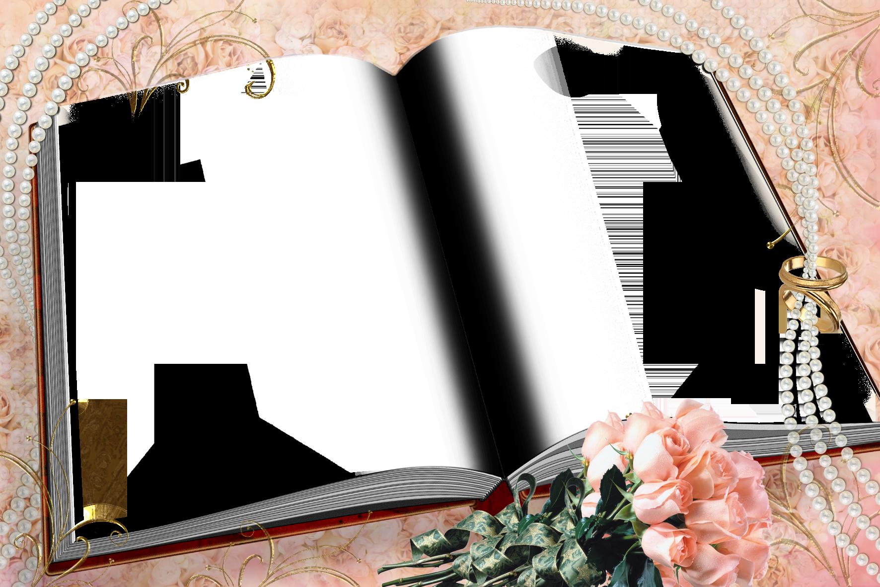 Свадебная фоторамка - Книга любви Свадебная фоторамка в виде